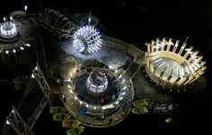 Turda Salt Mines – Transylvania truly has a penchant for mystery. Here's an underground carnival composed of mini golf, table tennis, Ferris wheel, mini bowling, and a pond complete with row boats. Mini Bowling, Cities In Europe, Ferris Wheel, Pond, Boats, Travel Destinations, Tennis, Mystery, Carnival