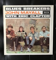 John Mayall Blues Breakers with Eric Clapton 1971 Vinyl Album by NicholasAllSorts on Etsy