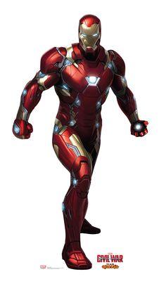 Iron Man from Captain America Civil War Life-Size Cardboard Standup