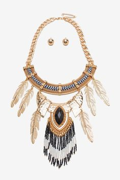Bohemian Luxe Statement Necklace