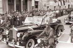 Josip Broz Tito and Haile Selassie -   1959 Rolls-Royce Silver Wraith