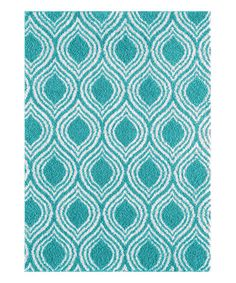 Zipcode Design Nannie Blue Area Rug Rug Size: x Florida Home, Throw Rugs, Blue Area Rugs, All Modern, Rug Size, Diy Home Decor, Teal, Design, House Decorations