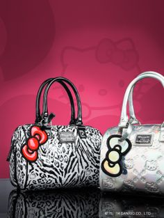 Bags to love forever. Hello Kitty Handbags, Hello Kitty Purse, Hello Kitty Nails, Hello Kitty Clothes, Hello Kitty Themes, Cute Bags, Grab Bags, Purse Wallet, Purses And Bags