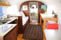 Vintage Airstream makeover