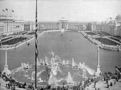 The white city 1893 columbian exposition in chicago (world fair)