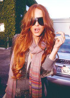 <3 hair envy  Lindsay lohan