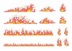 Free Vector | Red and yellow flame set Teacher Resume Template, Resume Template Free, Creative Resume Templates, Cartoon Bat, Cartoon Drawings, Bolo Super Man, Rockets Logo, Space Drawings, Cartoons