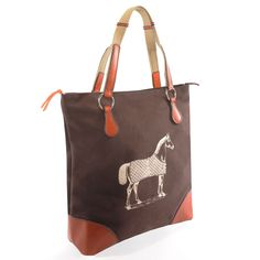 Burghley Tote | Rebecca Ray Designs - equestrian inspired bags
