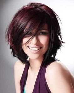 15.Layered Short Hair