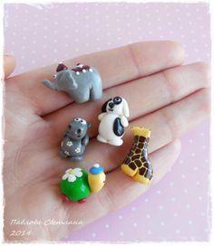 Miniature: Миниатюрные игрушки для кукольного домика. от Pavlysha на Etsy, €19.00