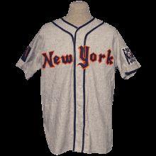 New York Knights 1939 Road - front