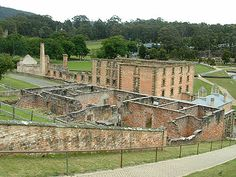 Port Arthur, Tasmania (want o go back and explore more) Beautiful Places To Visit, Cool Places To Visit, Places To Travel, Travel Destinations, Beauty Around The World, Travel Around The World, Around The Worlds, Port Arthur, England Ireland