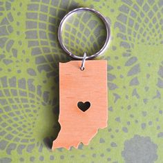 Indy Love Key Ring