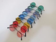 d11fc079fb2 Details about John Lennon Style Vintage Retro Classic Circle Round  Sunglasses For Small Faces