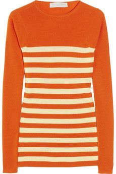 Tangerine AND striped?  Oh Stella, you slay us!!