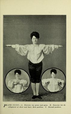 Excercise for grace and poise, 1905