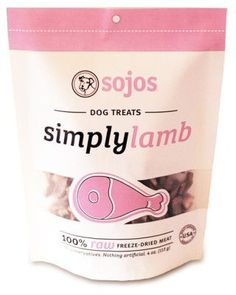 DOG TREATS - BISCUITS & COOKIE - SIMPLY MEAT DOG TREATS - LAMB - 4 OZ - SOJOS - UPC: 755709730047 - DEPT: DOG PRODUCTS