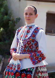 Travel Europe – The Home of Culture – Europe – Visit it and you will love it! Polish Embroidery, Hungarian Embroidery, Folklore, Ethnic Fashion, Womens Fashion, Folk Dance, Ethnic Dress, Folk Costume, Historical Clothing