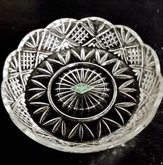 A personal favorite from my Etsy shop https://www.etsy.com/listing/504782303/shannon-irish-crystal-8-collectirs-dish