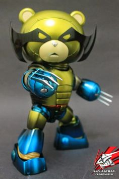 10 Awesome and Cool Beargguy Super Hero Custom - Gundam Kits Collection News and Reviews