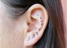 Top 10 Ear Tattoo Designs
