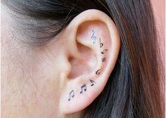 Top 10 Ear Tattoo Designs