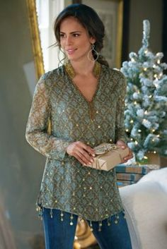 Rajita Tunic from Soft Surroundings