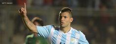 Sergio Agüero hará dupla con Messi