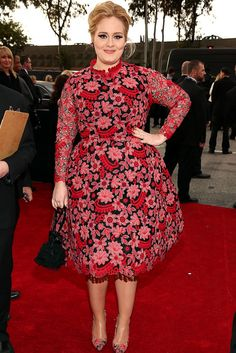 Adele - Valentino Couture - Grammy 2013