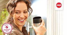 """Ich habe mich gerade für den EMSA """"Dich behalt ich""""-Produkttest beworben, um den TRAVEL MUG Thermobecher als täglichen Begleiter zu testen. Bewirb dich doch auch! - https://emsa.springup.io/?view=social&type=test&id=66"""