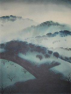 Misty Mountains - Eyvind Earle