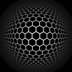The Hyperbolic Geometry of DMT Experiences: Symmetries, Sheets, and Saddled Scenes Geometric Designs, Geometric Art, Hyperbolic Geometry, Illusion Gif, Cool Optical Illusions, Funny Illusions, Gifs, Gif Animé, Gif Pictures