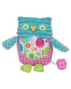 "Maison Chic ""Owl"" Girl's Musical Plush Toy"