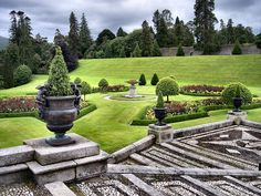 Gardens of Powerscourt, Ireland