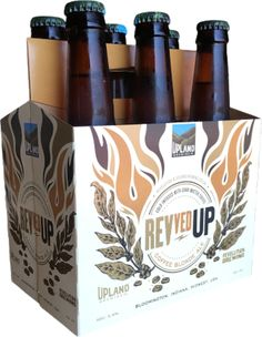 ABV: 5.6% IBU: 20  Upland Brewing Co. announced today that REVved UP Coffee Blonde Ale will be released on draught and in 6 packs starting April 1. Both Upland's Coffee Blonde Ale and Revolution's Coffee Brown Ale will be on tap at Upland tap rooms in early April. This craft beer is a collaboration with Revolution Brewing Co. and Dark Matter Coffee in Chicago, Illinois.