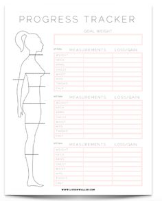 This Printable Health and Fitness Planner is What You Need