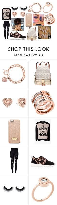 """Chillin' in Michael Kors"" by xoxoryssa ❤ liked on Polyvore featuring Michael Kors, MICHAEL Michael Kors and NIKE"