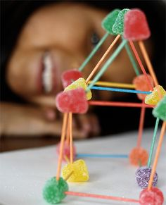 February 15 is National Gumdrop Day! Here's a fun craft to try with kids.