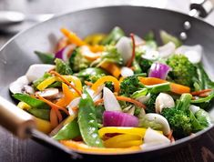 With so many wonderful spring/summer veggies....it is the perfect time for a stir-fry!  Not only is stir-frying quick and easy but it is also one of the healthiest ways to prepare meals for your entire family. What is your favorite stir-fry??? #Cookware #StirfryPan #HaroldImportCo #HelenChen  #helensasiankitchen #wok