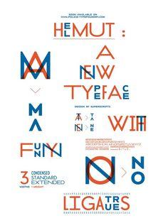 Actualité / Superscript² : deux affiches et une fonderie / étapes: design & culture visuelle