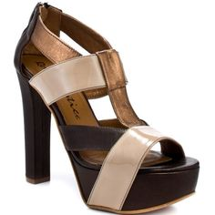 Rough Justice Women's Katie Platform Sandal,Bronze Leather,8.5 M US -- You can find out more details at the link of the image.