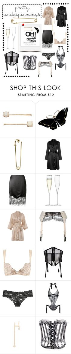 """""""Untitled #33"""" by beebejones ❤ liked on Polyvore featuring LC Lauren Conrad, La Perla, Givenchy, LSA International, Maison Close, Coco de Mer, FOLIES BY RENAUD, Victoria's Secret, Polaroid and ZoÃ« Chicco"""