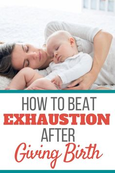 Find out what causes postpartum fatigue and how to beat it. Get your much needed energy back so you can take care of your newborn. Postpartum Blues, Postpartum Care, Postpartum Recovery, Pregnancy Quotes, Pregnancy Advice, Post Pregnancy, Post Natal Care, Tips For Pregnant Women, Breastfeeding Problems