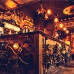 Enigma: A Steampunk-Themed Cafe Filled with Kinetic Sculptures Opens in Romania