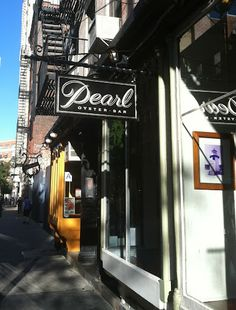 Pearl Oyster Bar in New York City - Part of my Day Three in NYC via The Simply Luxurious Life