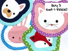 Set of Four Fun Placemats (Kids Snack Mats, Choose From After School Snack, Toddler Breakfast, Kindergarten Lunch, Easter Gift) Kindergarten Lunch, White French Bulldogs, Animal Snacks, Woodland Animals Theme, Toddler Table, Toddler Lunches, Pink Rabbit, After School Snacks, Bento Box