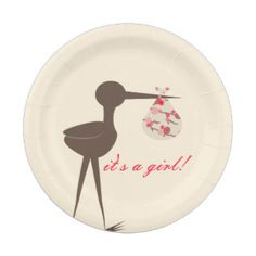 Baby Shower Plates   Baby Shower Plate Designs
