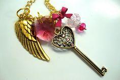 Super Sailor Chibi Moon Henshin Transformation Wand Necklace. $20.00, via Etsy.