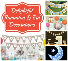 23 Ramadan and Eid Decorations That Will Delight Children