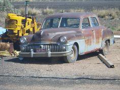 De Soto Custom sedan 1950 (route 66 2013)